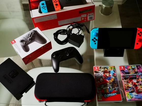 Annonce occasion, vente ou achat 'console Nintendo Switch Néon 32 GO'