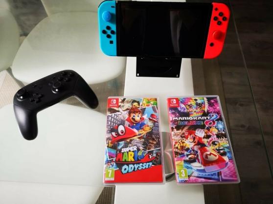 console Nintendo Switch Néon 32 GO - Photo 2
