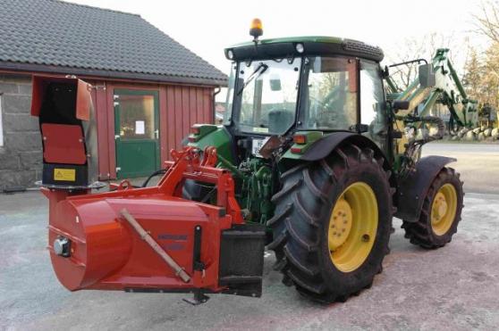 Tracteur John Deere 5515-4 état 10/10 - Photo 3