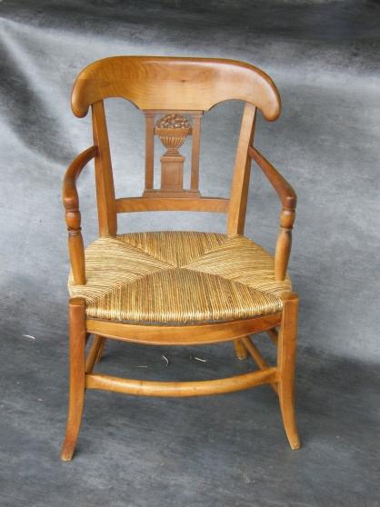 Rempaillage et cannage de chaise