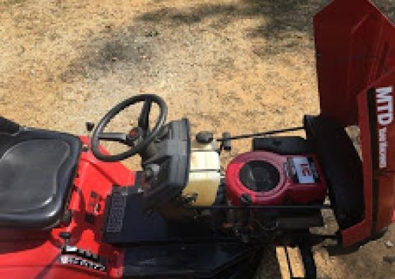 Tracteur tondeuse MTD