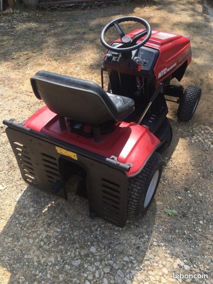 Tracteur tondeuse MTD - Photo 2