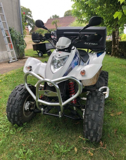 Quad kymco maxxer - Photo 2