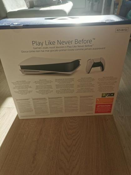 PS5 SonyBlu-Ray Edition Console - Blanc - Photo 2