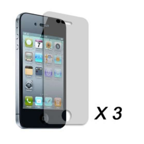Films de protection iPhone 4/4s (x3)