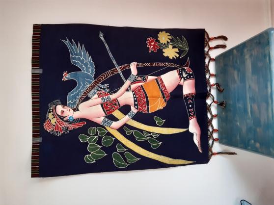 2 tapisseries chinoises