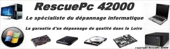 RescuePc 42000 Dépannage informatique 42