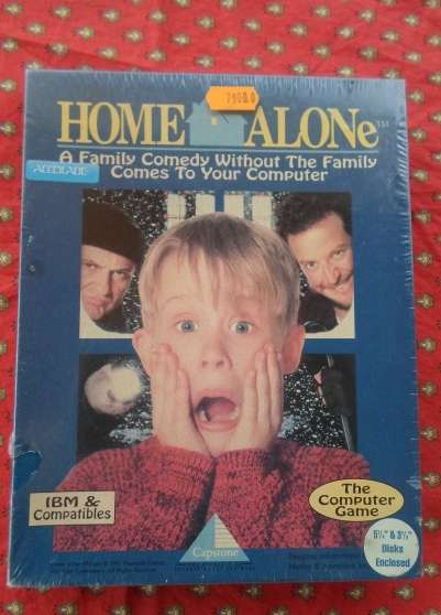 Annonce occasion, vente ou achat 'Jeux Video rare Neuf Pc Home Alone 1991'