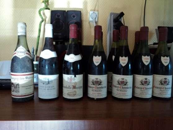 lots de vins authentique