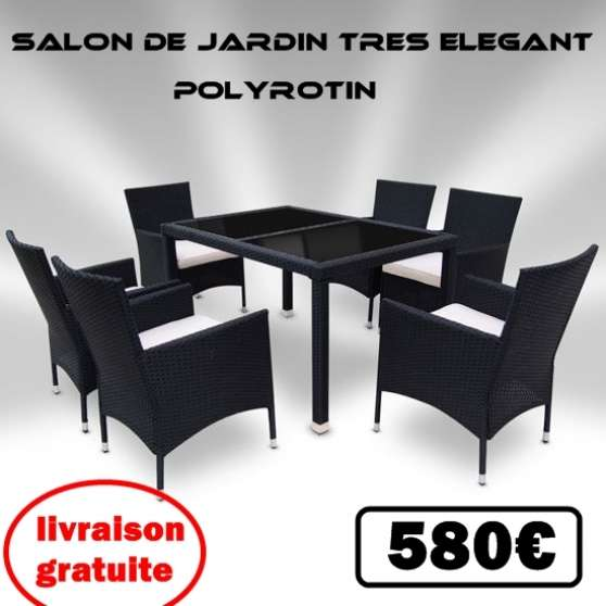 salon dejardin 13 pieces en poly rotin jardin nature meubles bourges reference jar meu sal. Black Bedroom Furniture Sets. Home Design Ideas