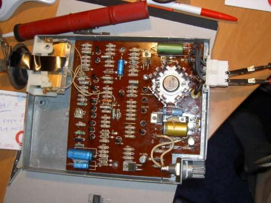 Réparation du Schlumberger Altronic M80