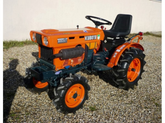 Annonce occasion, vente ou achat 'Tracteur Kubota B5001 4WD 4 roues motric'