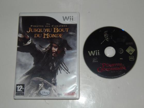jeu WII Pirates des caraibes