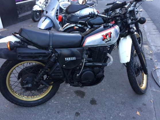 XT 500 Yamaha