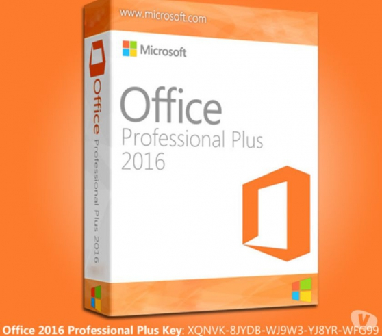 Annonce occasion, vente ou achat 'Microsoft Office Professional Plus 2016'