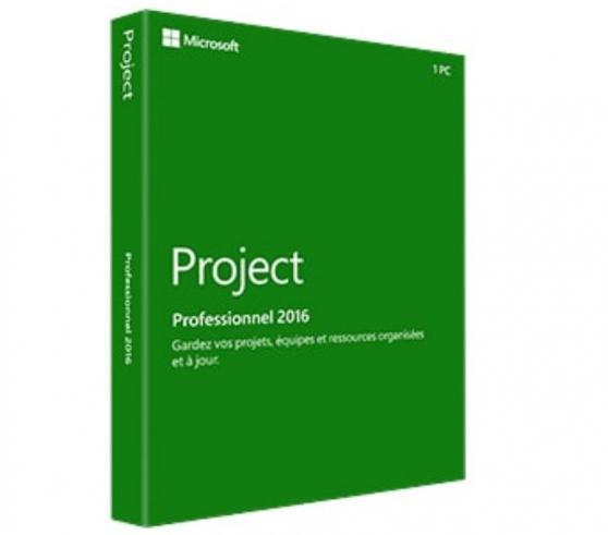 Annonce occasion, vente ou achat 'Microsoft Project Pro 2016'