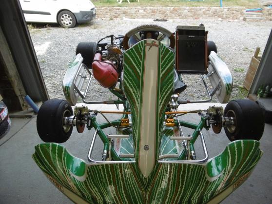 Karting a boite vortex rvx tonykart