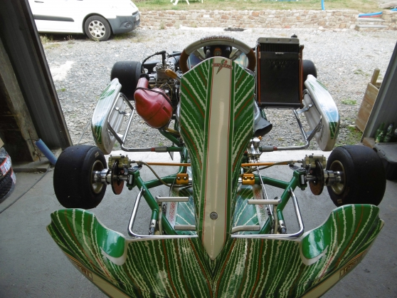 Annonce occasion, vente ou achat 'Karting a boite vortex rvx tonykart'