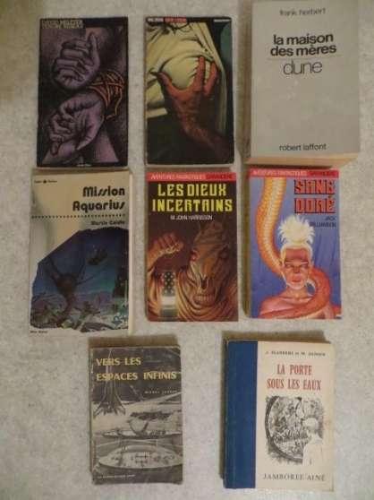 Annonce occasion, vente ou achat '8 Livres de science-fiction de collectio'
