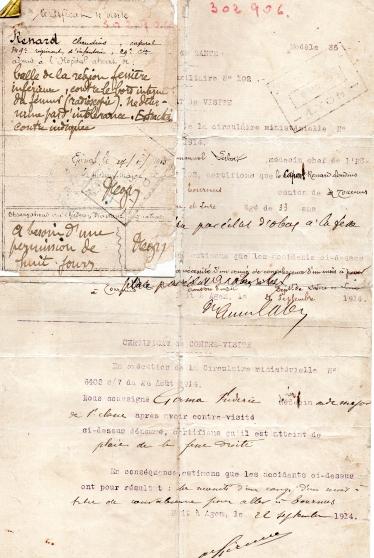 document original de 1914