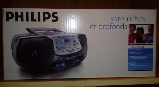 Poste Radio-Cassette CD PHILIPS AZ1220