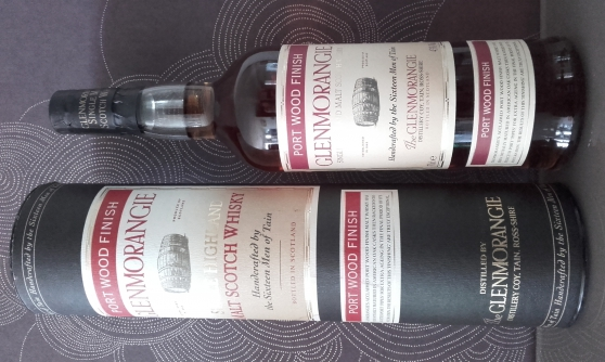 Annonce occasion, vente ou achat 'WHISKY GLENMORANGIE PORT WOOD FINISH'