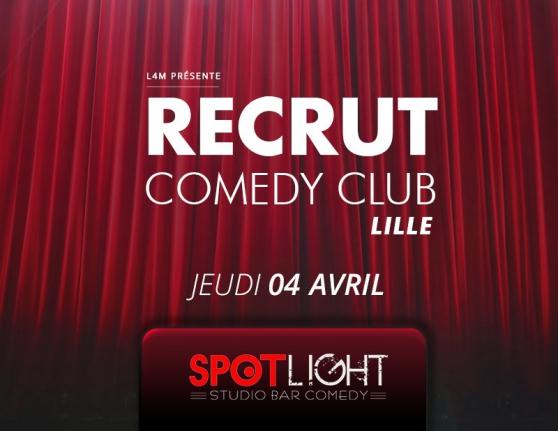 recrut comedy club lille - Annonce gratuite marche.fr