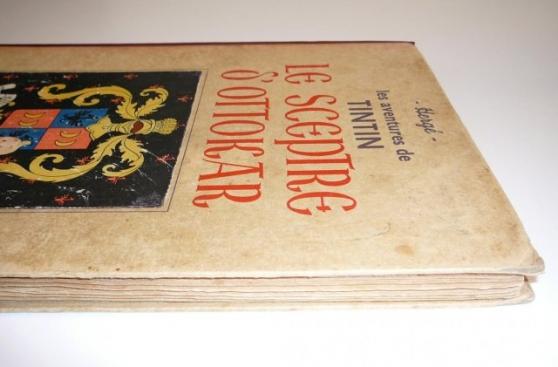 Annonce occasion, vente ou achat 'Tintin Le sceptre d\'Ottokar 1939 500 exe'