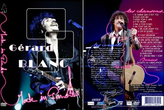 Annonce occasion, vente ou achat 'DVD concert de Gerard Blanc'