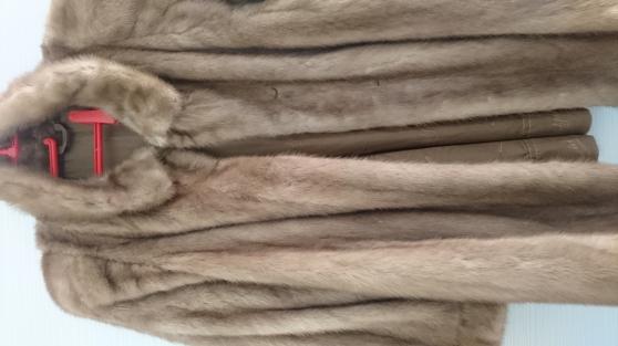 veste 3/4 vison doré état impeccable