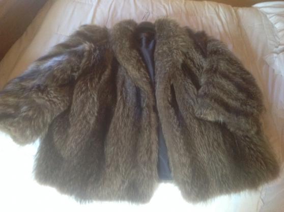 Veste en Marmotte Yves saint Laurent - Photo 3