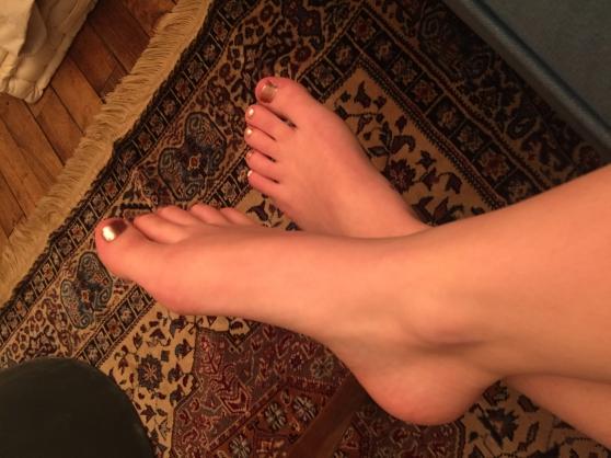 Fetish pieds
