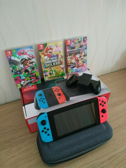 Annonce occasion, vente ou achat 'Nintendo Switch 32GB'