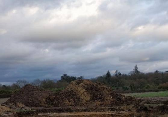 Donne 100m3 de terre de remblais