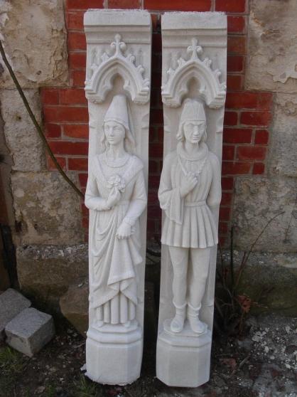 Statue de Charles VII ou d'Agnès Sorel