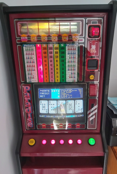 Machine a sous poker bubble