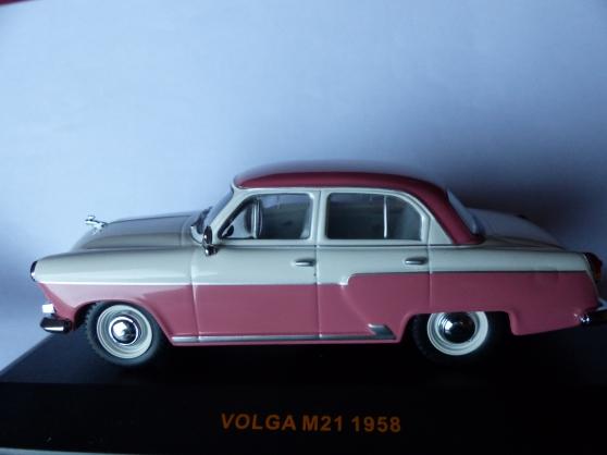 Annonce occasion, vente ou achat 'VOLGA M21 miniature IXO 1/43ème'