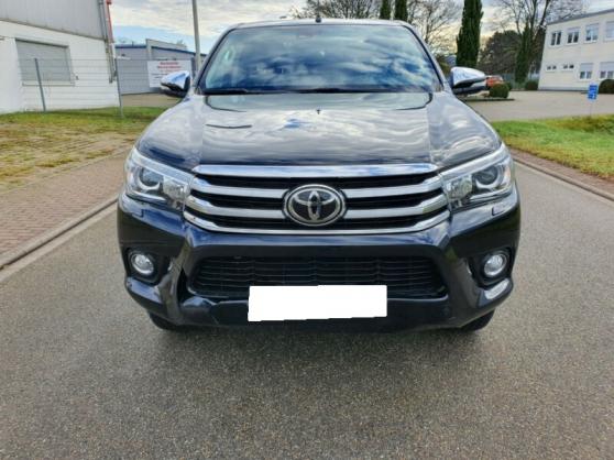 Toyota Hilux double cabine faxe Xenon