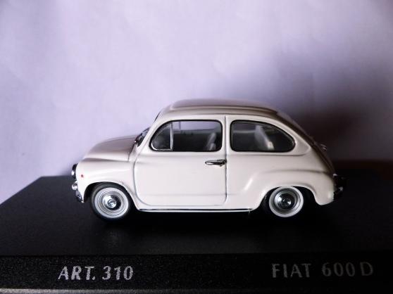FIAT 600D DETAIL CARS 1/43