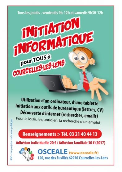 Annonce occasion, vente ou achat 'Cours d'initiation à l'informatique'