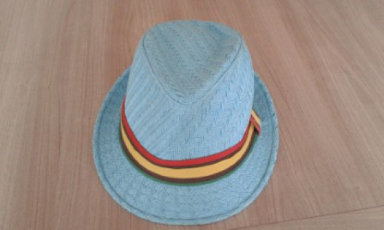 Chapeau couleur bleu