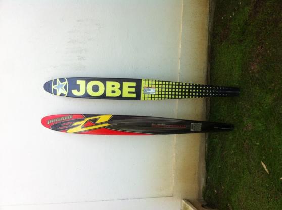 Vends deux monoski slalom