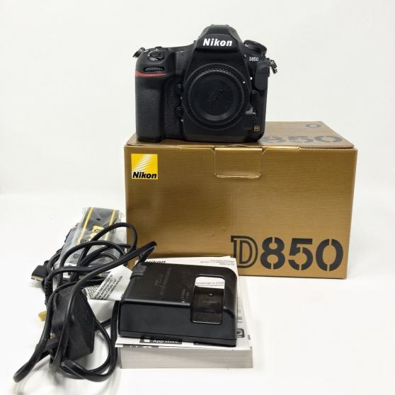 Annonce occasion, vente ou achat 'Nikon D850 reflex numérique corps 45.7MP'