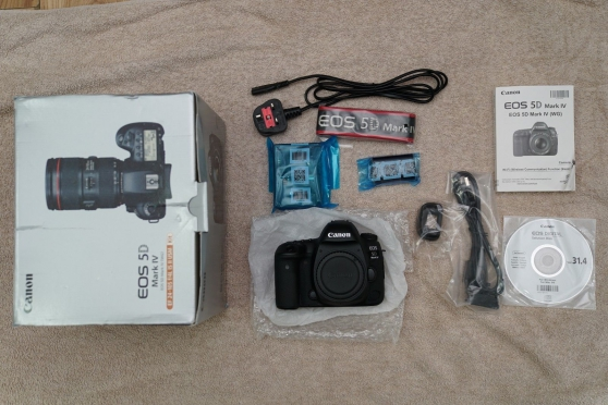 Annonce occasion, vente ou achat 'appareil photo canon 5D MARK IV'