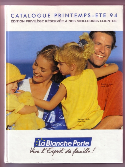 Catalogue BLANCHE PORTE ETE 1994 - Photo 1