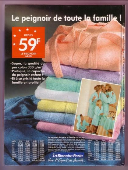 Catalogue BLANCHE PORTE ETE 1994 - Photo 2