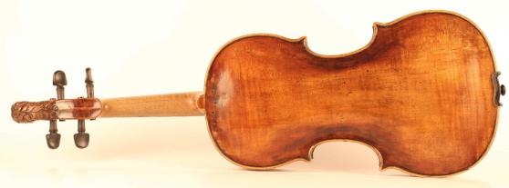 Vieux violon d\'Aegidius Kloz - Photo 2