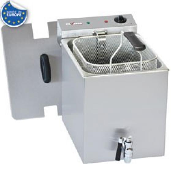Friteuse de table électrique 8L+robinet
