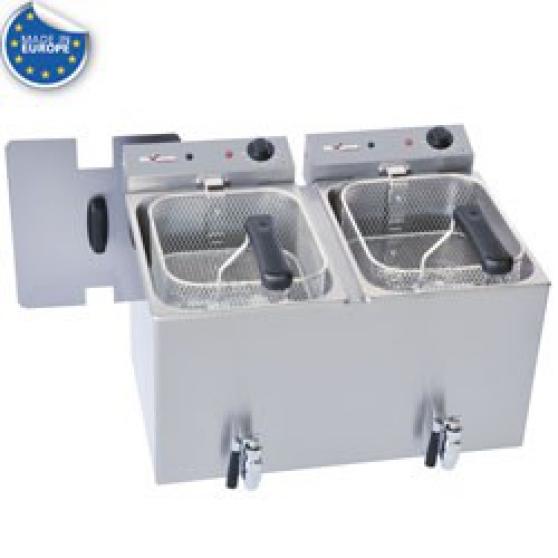Friteuse de table électrique 2x 8 litres