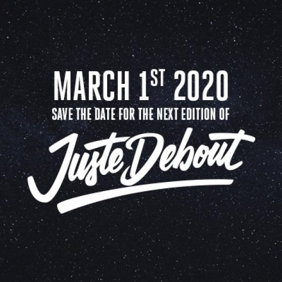 Finale Juste Debout 2020 le 1er mars à l